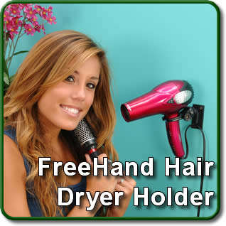 Free Hand Hair Dryer Holder
